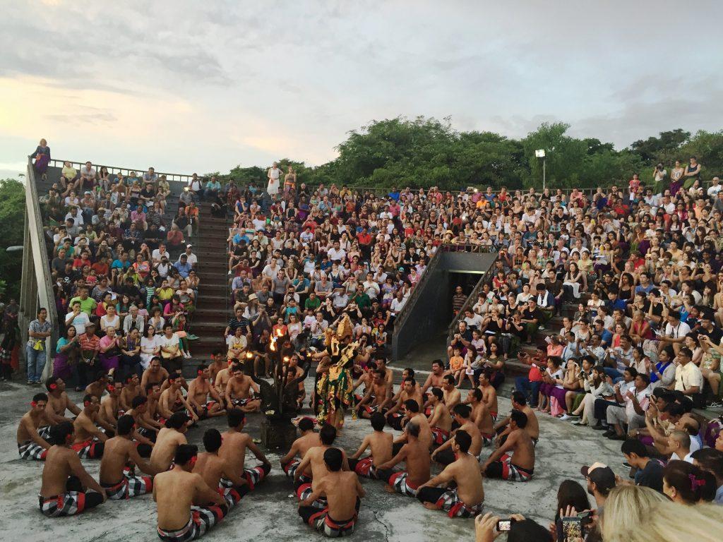 KECAK DANCE LA TEMPLUL ULUWATU  concediu în Bali