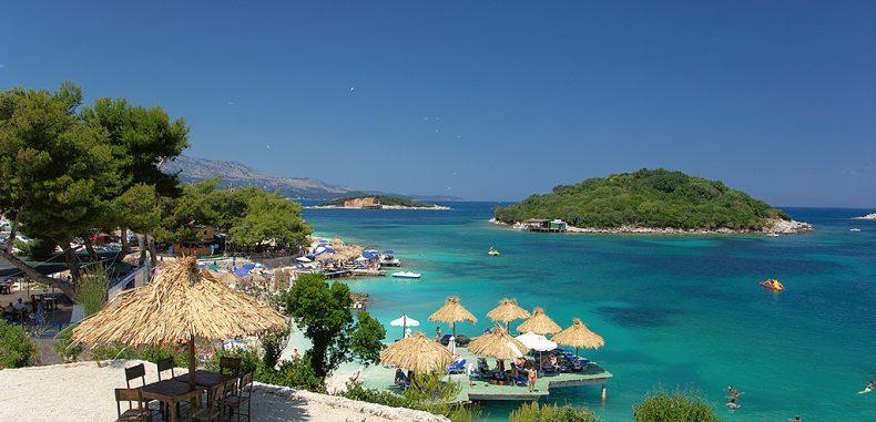 Ksamil beach (Albania) – Caraibe cu buget redus