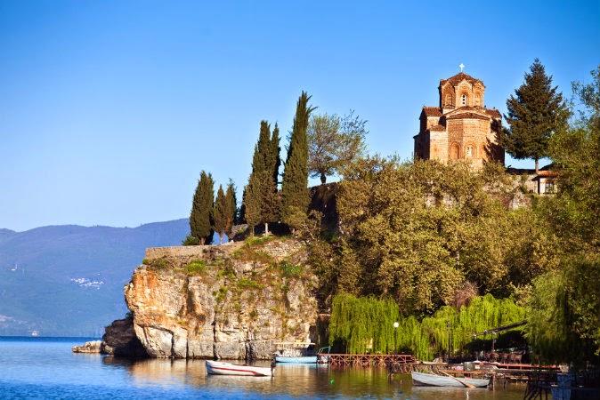 Ohrid Kaneo Ohrid si lacul Ohrid