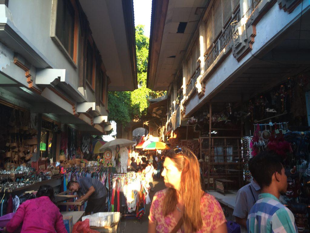 piata din ubud concediu în Bali