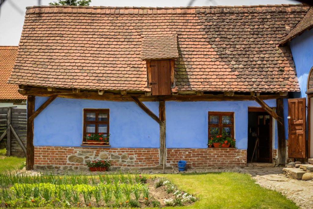 satul viscri zone energetice in romania
