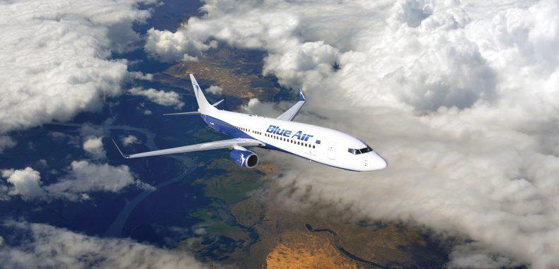 Blue Air introduce zbor direct Constanța-Paris