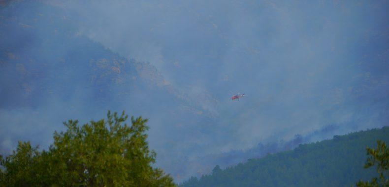Thassos, sub asediul flacarilor. Pompierii sunt neputinciosi (GALERIE FOTO)
