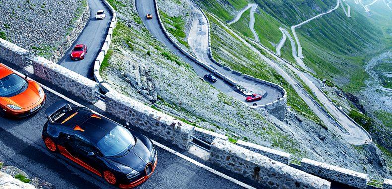 Transfăgărășanul, închis pentru o cursa Transfăgărăşan Speed Test