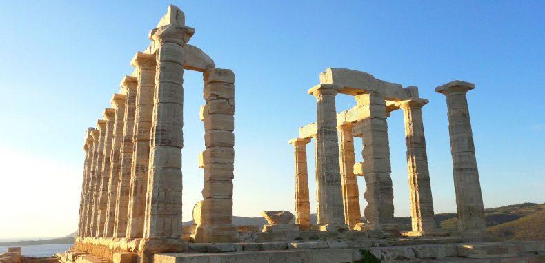 Tărâmul zeilor: Templul lui Poseidon care veghează de deasupra apelor (Galerie foto)