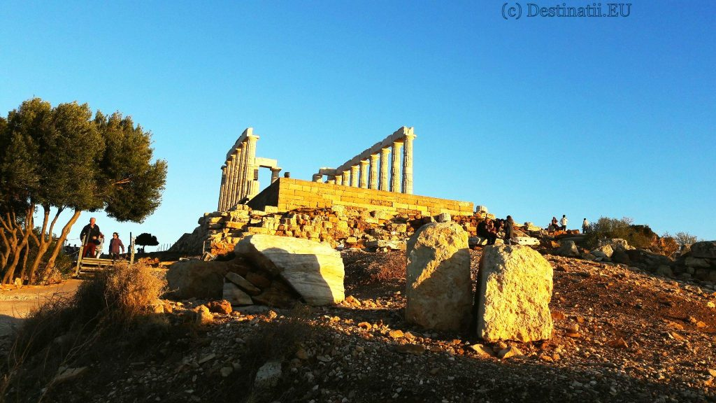 Templul lui Poseidon - tărâmul zeilor