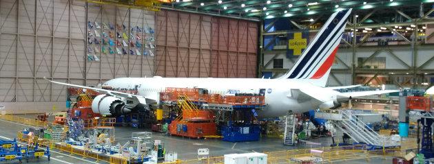 Noul Boeing 787 Dreamliner al Air France face prima cursă pe 1 mai 2017