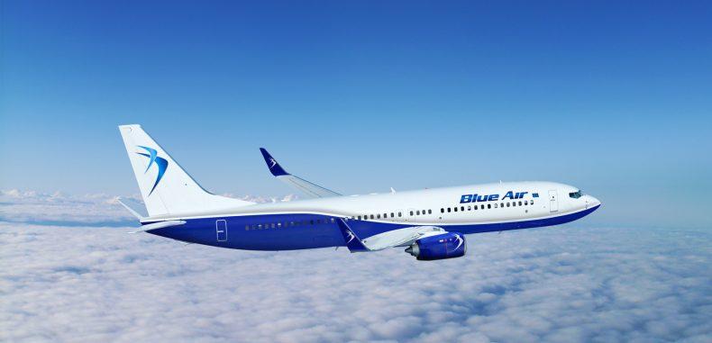Incident violent într-o aeronavă Blue Air ce zbura spre Stuttgard