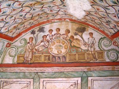 istoria tomisului mormântul lui hipogeu