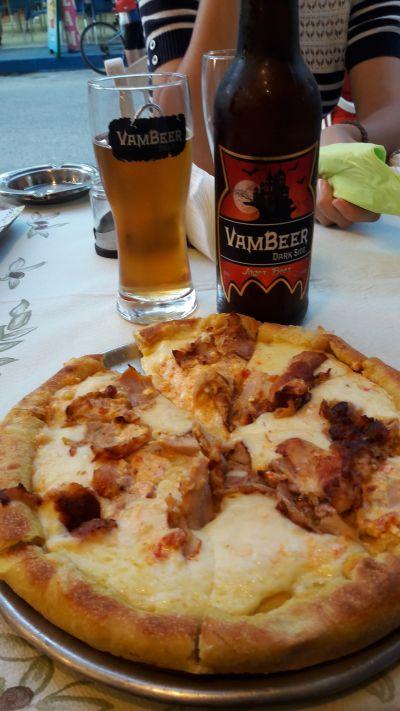pizza pacmam pacmam gyros mancare paralia restaurante paralia