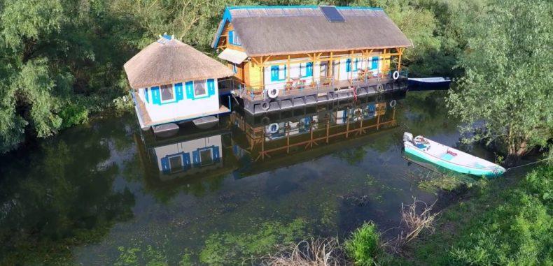 Satul Crișan din Delta Dunării, raiul din mijlocul raiului