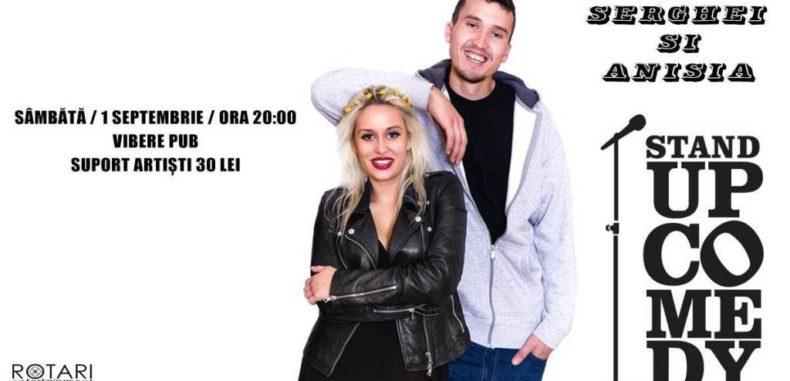 Stand up comedy cu Serghei și Anisia la Vibere Pub