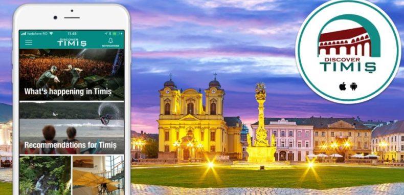 Discover Timiș, aplicația care îți devine ghid turistic digital în vestul țării