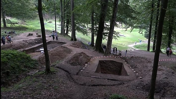 Un monument nou s-a descoperit la Sarmisegetuza