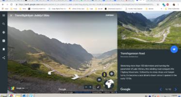 noi colecții google street view