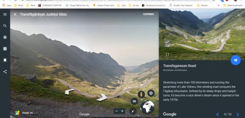 Noi colecții Google Street View cu ocazia Centenarului