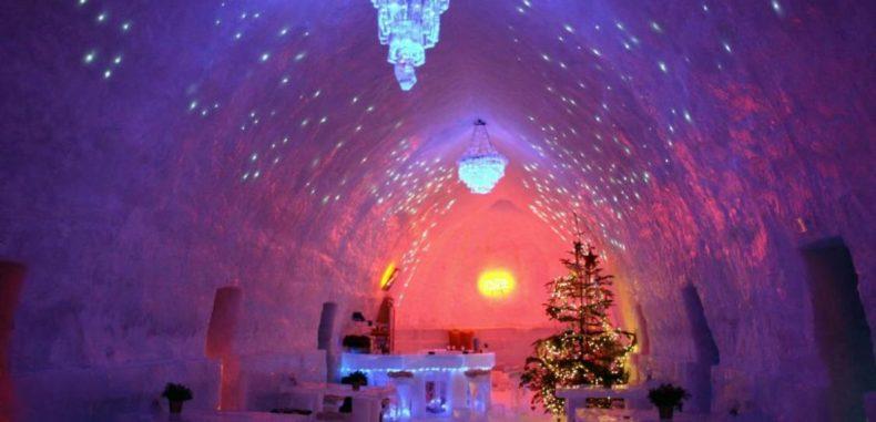 Hotelul de Gheaţă de la Bâlea Lac se deschide duminică