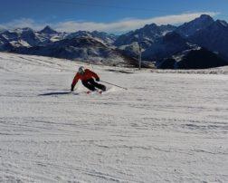 Pârtia de schi din Masivul Rarău
