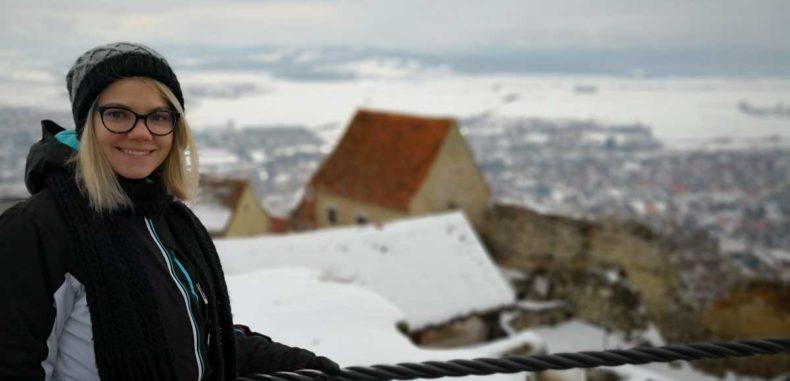 Cetatea Râșnov, frumusețea istorică părăsită de autorități pe timp de iarnă