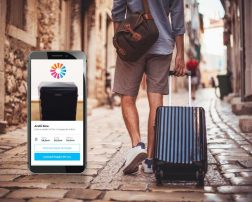 smart baggage aplicația care măsoară bagajul de mână