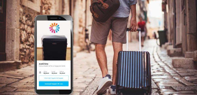 Smart Baggage, aplicația care îți spune ce dimensiuni are bagajul de mână