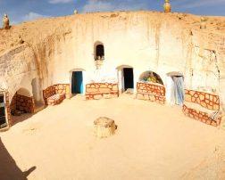 casele de troglodiți case subterane matmata star wars