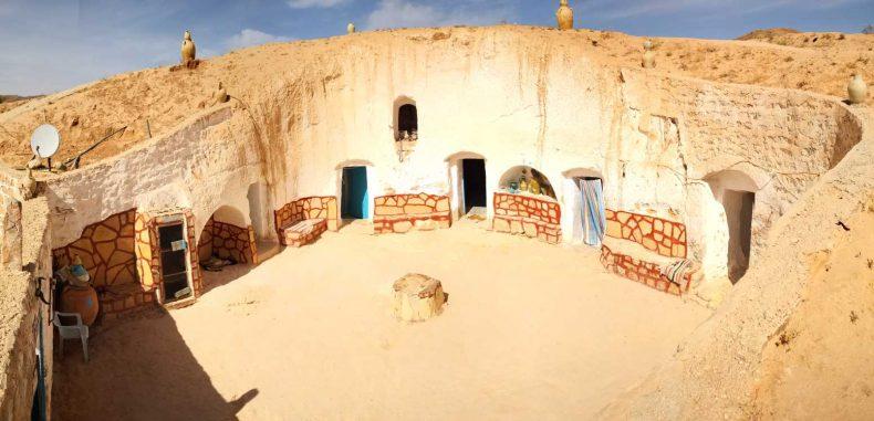Casele de troglodiți din Matmata. O vizită inedită
