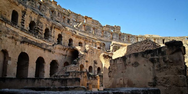 el jem colosseumul african amfiteatrul din Tysdrus