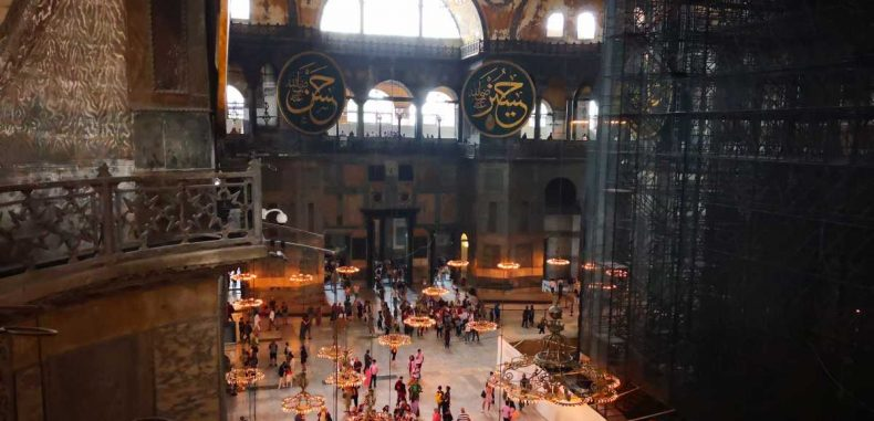 Hagia Sofia din Istanbul, catedrala reciclată
