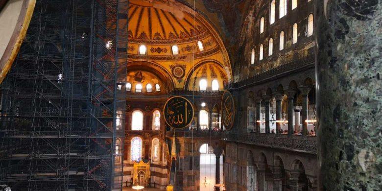 hagia sofia din istanbul catedrala reciclata a opta minune a lumii