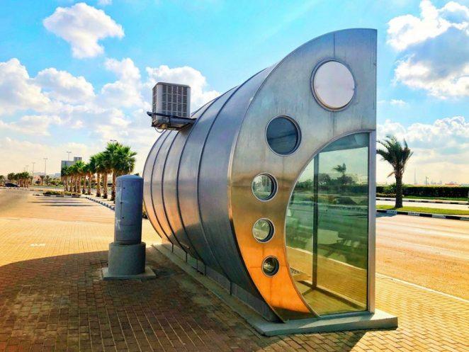 Cele mai interesante stații de autobuz din lume