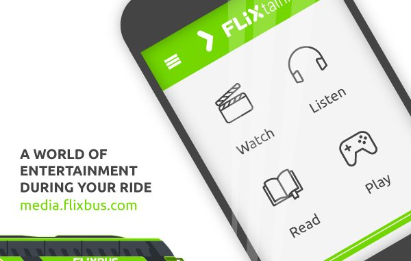 FLIXtainment – noul centru de divertisment de la bordul autocarelor
